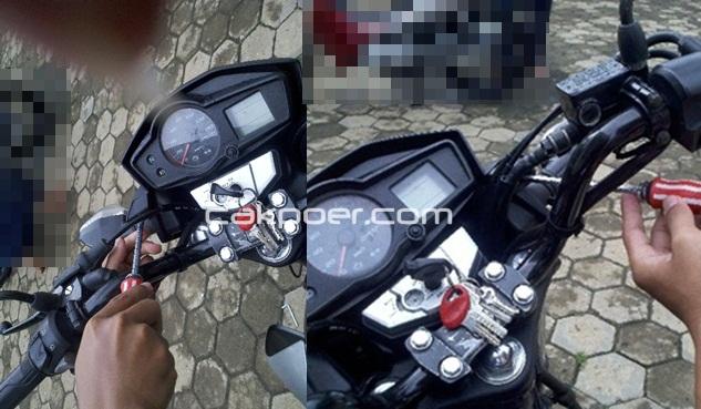 cakpoer - verza headlamp - baut speedometer
